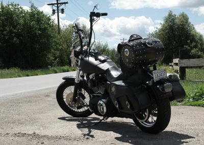 Jack Daniels Themed Harley Davidson