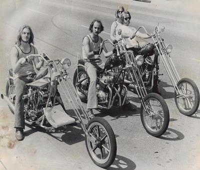3 Old School Choppers