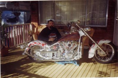 Home Built Custom Rigid Chopper