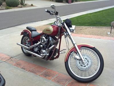 1993 Harley Pro Street