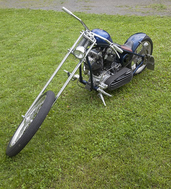 raked springer chopper