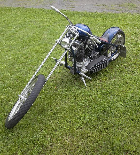 raked springer chopper