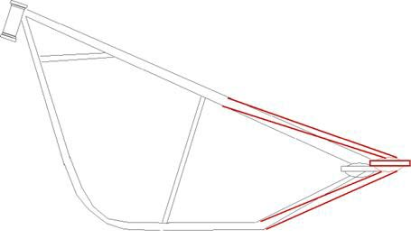 rear frame stretch