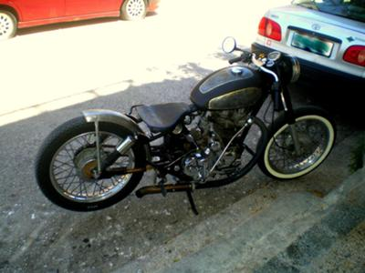 Royal Enfield Rat Bike!