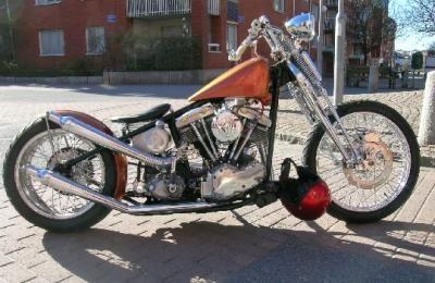 springer hardtail chopper