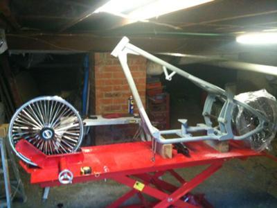 Softail Chopper Frame