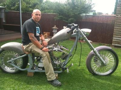 Nearly Complete Softail Chopper