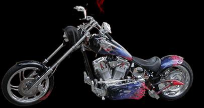 solo saddle chopper