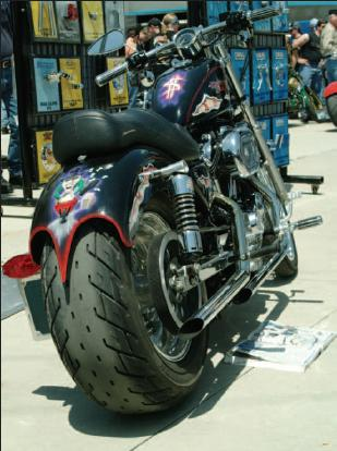 sportster wide tire conversion