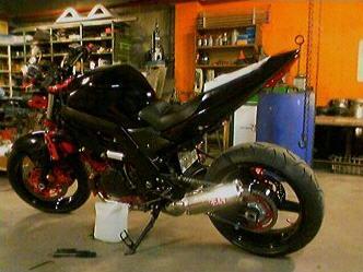 SV1000 Custom Streetfighter