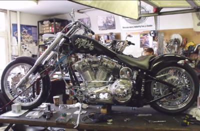 Death Metal Custom Chopper