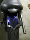 Ace rear custom fender