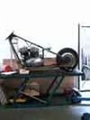 Frame On Lift Table