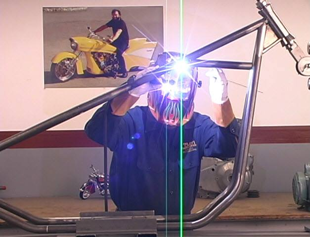 tig welding rigid frame