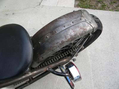 Triumph Rear Fender