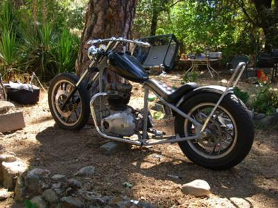 Triumph Rat Chopper