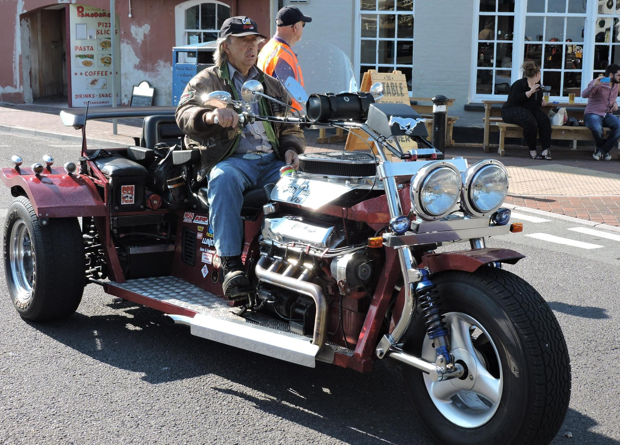Is a v8 trike a good project motorcycles come in all forms of design build and make a trike otherwise known as a 3 wheel motorcycle is a fusion of both a car and a motorcycle solutioingenieria Images
