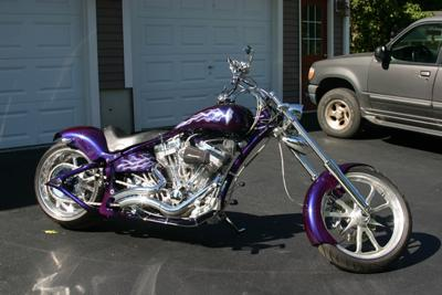 custom built chopper