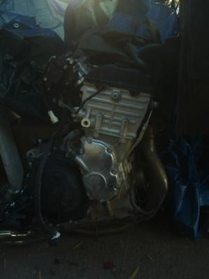 Triumph Daytona 600 Motor and Transmission