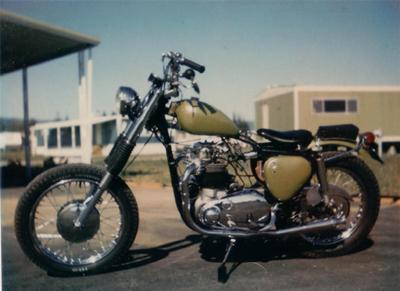 1960 BSA Chopper