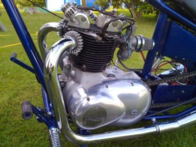Triumph 5ta Motorcycle Engine