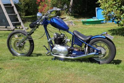 Triumph 5ta Chopper