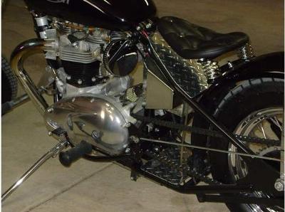 650 Bonneville Engine