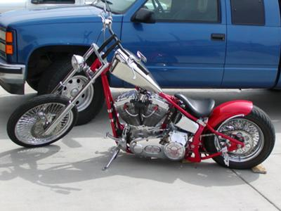 softail chopper