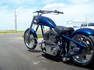 Blue Thunder 2006 Custom Chopper