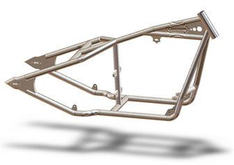 hardtail sportster frame