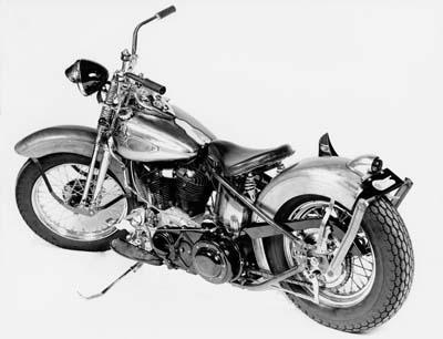 1941 knucklehead bobber