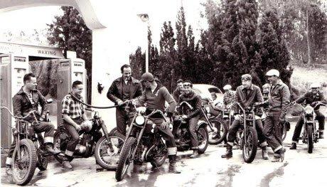 old motorcycle club