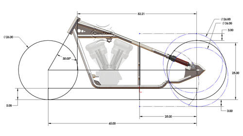 Sportster Dimensions