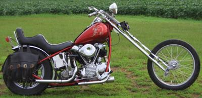 1946 knucklehead chopper