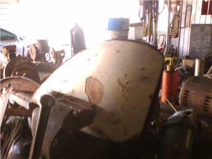 bobber gas tank forming