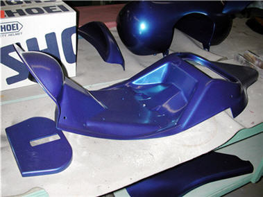 painted parts