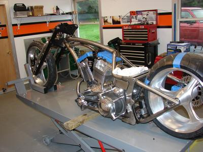 About Custom Pro Street Motorcycles