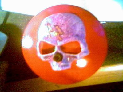 Skull Cap Top View