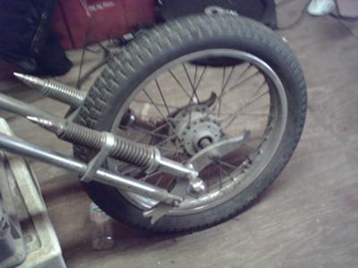 Mounted Springer Forks