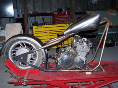 Custom Motorcycle Project