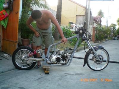 custom chopper 'chopperbone'