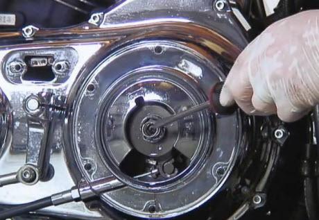 sportster clutch adjuster