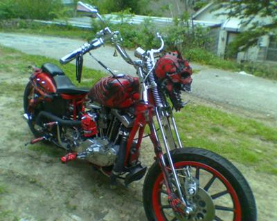 Demon Bobber Motorcycle