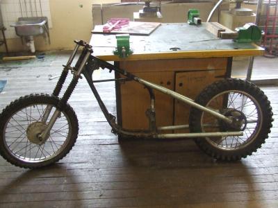 my dirt bike chopper