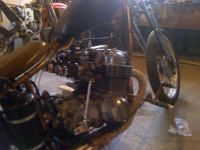 Honda 836cc Engine