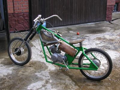 Hardtail Custom Chopper