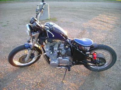 Kawasaki Bobber Chopper