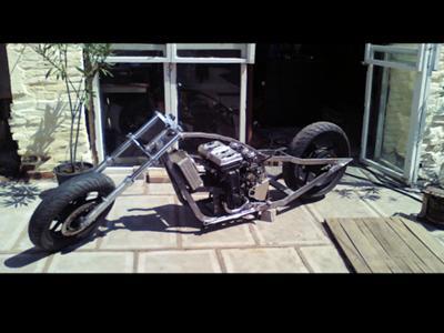 Kawasaki GP Rolling Chassis and Engine