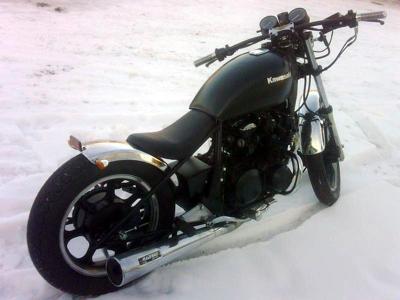 Kawasaki Bobber
