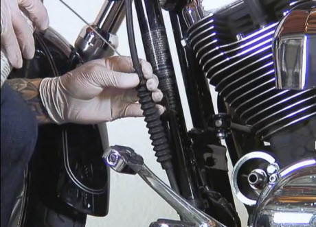 Sportster Clutch Cable Lube